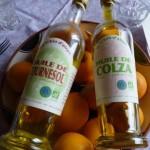 """Bouteilles huile """"La Tibiodaire"""""""