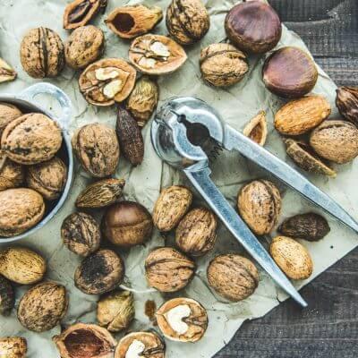 Des châtaignes et des noix