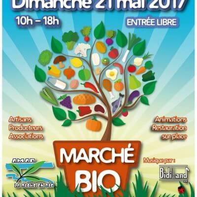 Marché Bio dimanche 21 mai 2017