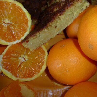 Gâteau à l'orange de la mère Blanc