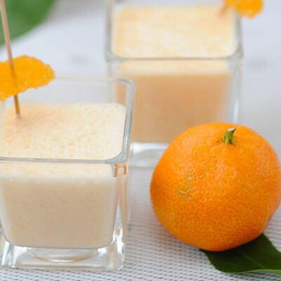 Crème aux clémentines